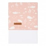 Little Dutch Wieglaken Ocean Pink  70 x 100 cm