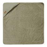 Little Dutch Badcape Pure Olive  75 x 75 cm
