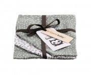 Briljant Monddoek Minimal Dots Stone Green 3-Pack
