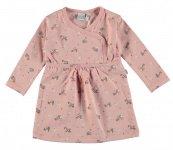 Babylook Jurk Flower Silver Pink