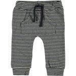 Babylook Broek Stripe Grey Melee / Navy