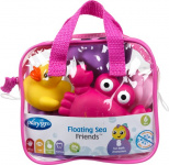 Playgro Floating Sea Friends Pink Fully Sealed