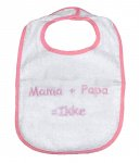 La Petite Couronne Slab Mama+Papa White Pink
