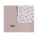 Baby's Only Wiegdeken Bloom Oudroze 70 x 95 cm