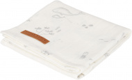 Little Dutch Swaddle Ocean White 120 x 120