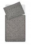 Jollein Dekbedovertrek Spots Storm Grey 100 x 140 cm