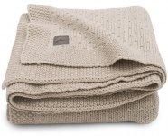 Jollein Wiegdeken Bliss Knit Nougat 75 x 100 cm