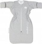 Puckababy Slaapzak Winter The Bag Newborn Grey Stripe 70cm
