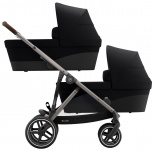 Cybex Gazelle S TPE Twin Deep Black/Black