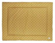 Meyco Boxkleed Double Diamond Honey Gold 80 x 100 cm