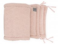 Jollein Box/Bedbumper River knit Pale Pink