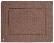 Jollein Boxkleed Spring Knit Chestnut 75 x 95 cm
