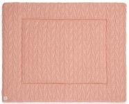 Jollein Boxkleed Spring Knit Rosewood  80 x 100 cm