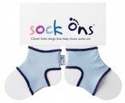Sock Ons Blauw 0-6 maanden