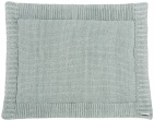 Meyco Boxkleed Relief Sage Green 77 x 97 cm