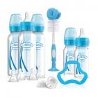 Dr. Brown's Giftset Standaard Hals Options+ Blauw