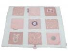Little Dutch Boxkleed Adventure Pink 9-Vlaks 85 x 100 cm