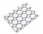 Briljant Hydrofiele Luiers Grid Wit/Zwart (3 stuks)