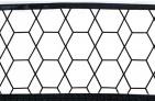 Briljant Ledikantlaken Grid Black/White 100 x 150 cm