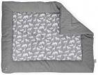 Jollein Boxkleed Safari Stone Grey    80 x 100 cm