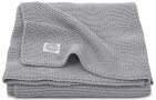 Jollein Deken Basic Knit  Stone Grey 100 x 150 cm