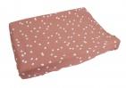 Briljant Waskussenhoes Spots Grey Pink