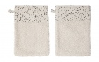 Bébé-Jou Washand Fabulous Dots 2-Pack