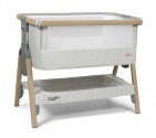 Tutti Bambini CoZee Bedside Crib Oak/Silver