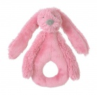 Happy Horse Rabbit Richie Rattle Deep Pink 18 cm