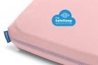 Aerosleep Hoeslaken Pink  70 x 140 cm