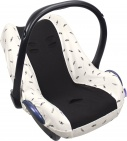 Dooky Seat Cover 0+ Black Feather