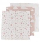 Meyco Hydrofiele Luiers 3pack  Print Roze