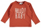 Babylook T-Shirt Hello Clay