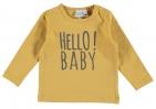 Babylook T-Shirt Hello Mustard