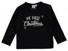 Babylook T-Shirt Christmas Black