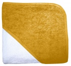 Babydump Collectie Babycape Wit / Ocher