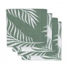 Jollein Hydrofiele Multidoek Small 70x70 Nature Ash Green 4pck