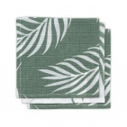 Jollein Monddoek Nature Ash Green 3-Pack