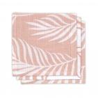 Jollein Hydrofiele Monddoekjes Nature Pale Pink 3pck
