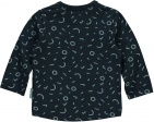 Quapi T-Shirt Xabi Dark Blue Graphic