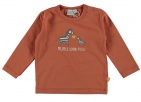 Babylook T-Shirt Mum Autumn Leaf