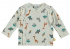Babylook T-Shirt Overslag Animals