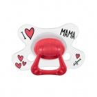 Difrax Fopspeen I Love Mama Natural 6 mnd+