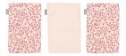 Bébé-Jou Hydrofiele Washandjes Leopard Pink (3 stuks)