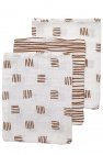 Meyco Washand Block Stripe Camel 3-Pack