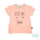 Feetje T-Shirt Korte Mouw Kiss Me Roze