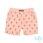 Feetje Shorts Palm Tree Koraal