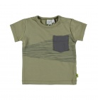 Babylook T-Shirt Korte Mouw Oil Green