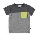 Babylook T-Shirt Korte Mouw Iron Gate