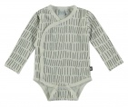 Babylook Romper Stripe Snow White